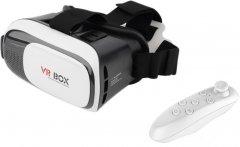 Очки виртуальной реальности XoKo Glasses 3D VR-001 Black/White + XOKO VR пульт дистанционного управления (XK3D-VR001-RC)