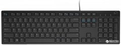 Клавиатура проводная Dell Multimedia KB-216 USB (580-ADGR)