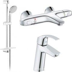 Набор смесителей для ванны GROHE 34101TM (23324001+34155003+27926001)