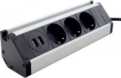 Портативная мебельная розетка ElectroHouse EH-AR-307