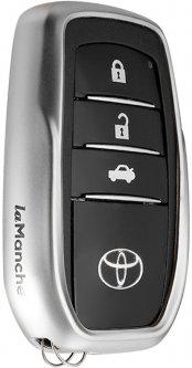 Чехол для автоключа LaManche Toyota Silver (TYT-A01K_slv)