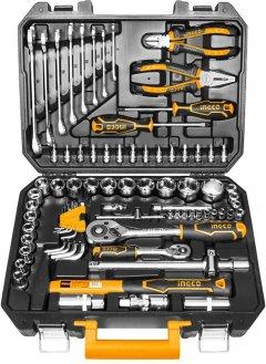 Набор инструментов INGCO Industrial 77 предметов (HKTHP20771)