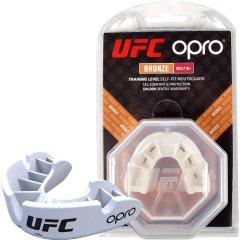 Капа OPRO Bronze UFC Hologram White (002258002)