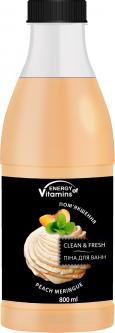 Пена для ванн Energy of Vitamins Peach meringue 800 мл (0517) (4820074620517)