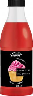 Пена для ванн Energy of Vitamins Cherry cupcake 800 мл (1477) (4820074621477)