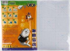 Набор клейкой пленки для учебников 10 листов ZiBi 500x360 мм Прозрачный (ZB.4791)