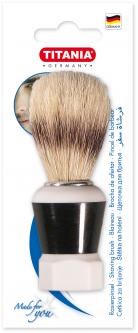 Помазок для бритья с натуральной щетиной Titania 1700 B (1700 B)