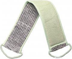 Мочалка банная массажная в форме ремня Titania 7714 Зеленая (7714)