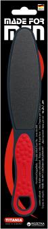 Терка для ног с обрезиненной ручкой мужская Titania 3020/ST (4008576359610_men)