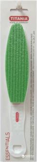 Терка с пемзой для грубой кожи ног Titania 3032 Зеленая (4008576030328_green)