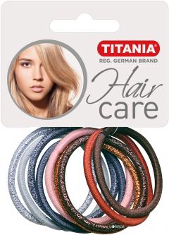 Набор резинок для волос Titania 7818 Разноцветные 4 см 10 шт (7818)