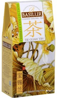 Чай зеленый Basilur Китайский Те Гуань Инь 100 г (4792252936829)