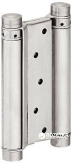 Петля для двухстороннего открывания Hafele Стальная никелированная 125 x 22 мм (927.01.270)