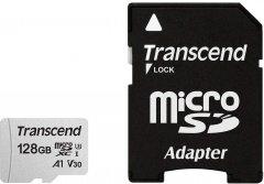 Transcend 300S microSDXC 128GB UHS-I U3 + SD-Adapter (TS128GUSD300S-A)
