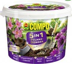 Удобрение длительного действия Compo 5 в 1 для посадки растений 1.5 кг (3025)