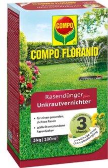 Удобрение Compo для газонов против сорняков 3 кг (3310)