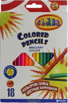 Карандаши цветные Class Premium 18 цветов (8591662161816)