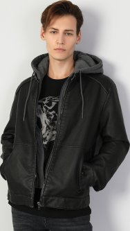 Куртка из искусственной кожи Colin's CL1047272BLK S (8682240078425)