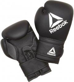 Боксерские перчатки Reebok 12 унций Черные (RSCB-12010BK-12)