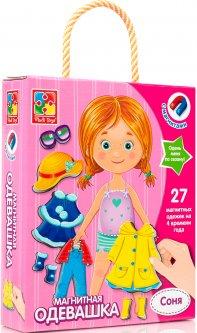 Настольная игра Vladi Toys Магнитная одевашка Соня (Рус) (VT3702-03)