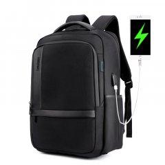 """Классический дорожный рюкзак для ноутбука до 15,6"""" Arctic Hunter B00120С, влагозащищённый, с USB портом и отверстием для наушников, 25л"""