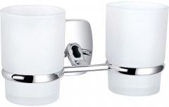 Стакан для ванной PERFECT SANITARY APPLIANCES RM 1801 круглый двойной Стекло Латунь