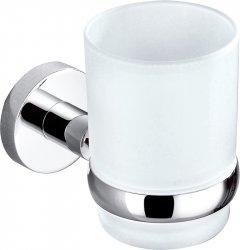 Стакан для ванной PERFECT SANITARY APPLIANCES SP 8121 круглый Стекло Латунь