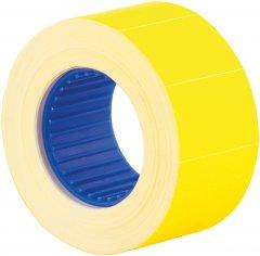 Этикет-лента Economix 26 x 16 мм 500 шт/уп Желтая (E21305-05)