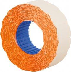 Этикет-лента Economix 22 x 12 мм 1000 шт/уп Оранжевая (E21303-06)