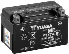 Мото аккумулятор Yuasa 12V 6Ah MF VRLA Battery AGM YTX7A-BS (сухозаряжений) (YTX7A-BS)