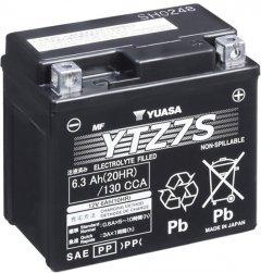 Мото аккумулятор Yuasa 12V 6.3Ah High Performance MF VRLA Battery YTZ7S (GEL) (YTZ7S)