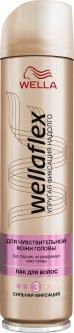 Лак для волос Wella Wellaflex для чувствительной кожи головы сильной фиксации 250 мл (8699568541692)