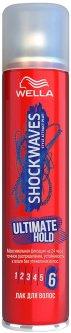 Лак для волос Wella Shockwaves максимальная фиксация 400 мл (3614226250636)