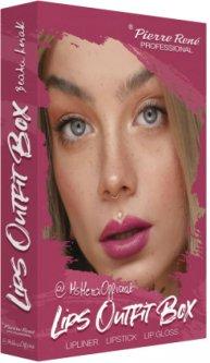 Набор косметики для губ Pierre Rene Lips Outfit Box №1 (3700467841617)