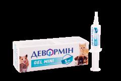 Гель противопаразитарный для котят, щенков и грызунов Девормин Gel Mini оральный шприц-туба 5 мл ()