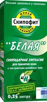 Эмульсия для принятия ванн Натуротерапия Белая с экстрактами трав 250 мл (4620004950338)