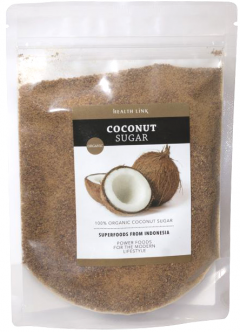 Сахар Health Link Кокосовый органический 250 г (8594046602011)