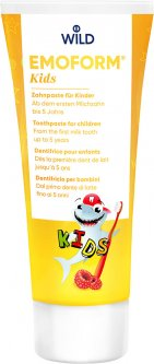 Детская зубная паста Dr. Wild Emoform Kids 75 мл (7611841701723)