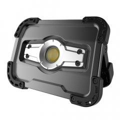 Прожектор G.I.KRAFT светодиодный аккумуляторный 10W с POWERBANK 5000 mAh (выход USB 5V), IP65 FL-1002W