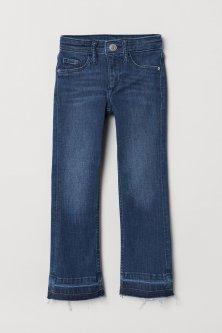 Джинси H&M Superstretch Bootcut 104 темно-сині 6-0043