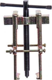 Съёмник двухзахватный рельс с фиксацией Toptul Стандарт Chrome vanadium 70х120 мм (SK2R5F)