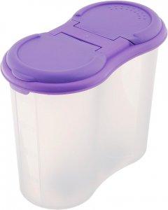Контейнер для сыпучих продуктов Martika №4 Фиолетовый 1.5 л (С243 ФІОЛ)