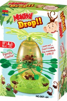 Игра Kingso Toys Веселые обезьянки (6910010107641)