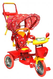 Велосипед трехколесный Ardis TC-R107A-2A Красный (04611-Ч)