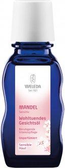 Деликатное масло для лица Weleda Миндальное 50 мл (4001638093613)