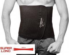 Пояс для похудения PowerPlay 4301 Черный 150x30 см (PP_4301_150см_Black)