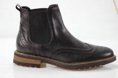 Черевики prodotto Italia челсі 4133м 30.5 см 45 р темно-коричневий 4170