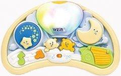 Музыкальный ночник Weina Мишки на воздушном шаре (2147) (4893062021474)