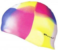 Шапочка для плавания Spokey Abstract Cup Multicolor (83950)