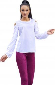 Блузка Jadone Fashion Сара S (42) Белая (ROZ6400002217)